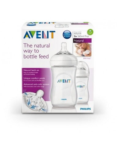 Philips Avent Natural 9oz Twin Pack Bottle