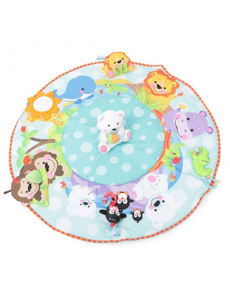Cangaroo Playmat Gym Zoo