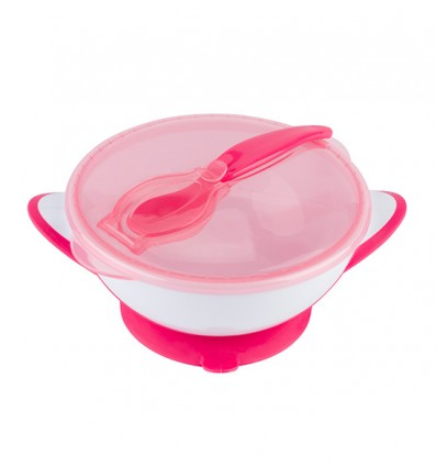 BabyOno Suction Bowl with Spoon