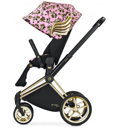 CYBEX Priam Pink Cherubs by Jeremy Scott