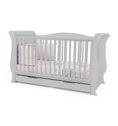 BabyStyle Hollie Grey Cot Bed - Grey
