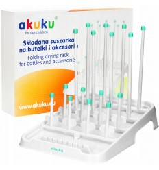 Akuku Folding Drying Rack for Bottles