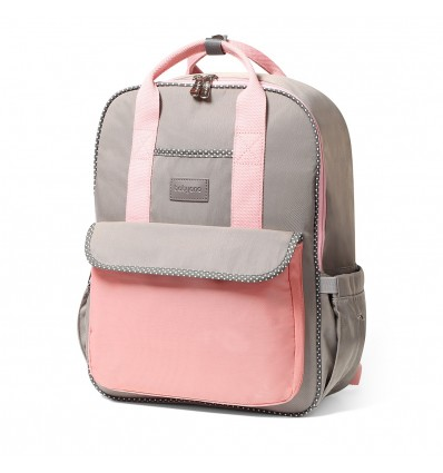 BabyOno Diaper Backpack London Pink