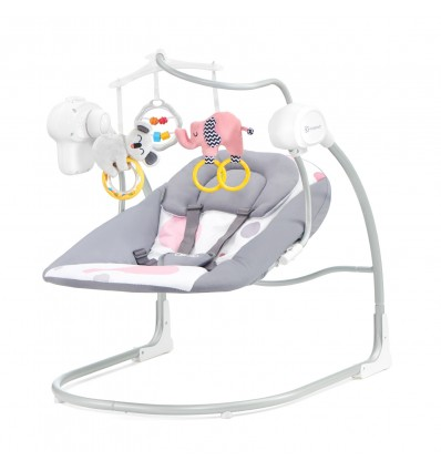 Kinderkraft Minky Electric Baby Swing