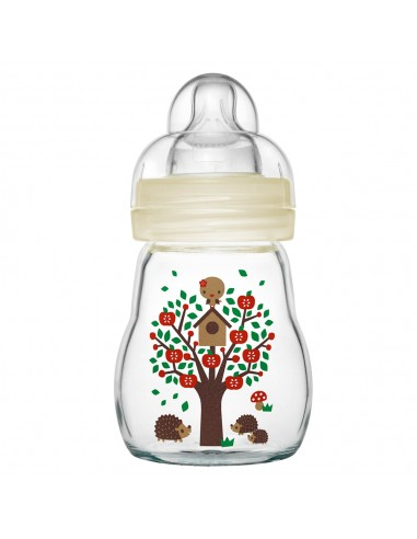 MAM Feel Good Glass Baby Bottle - 0+...