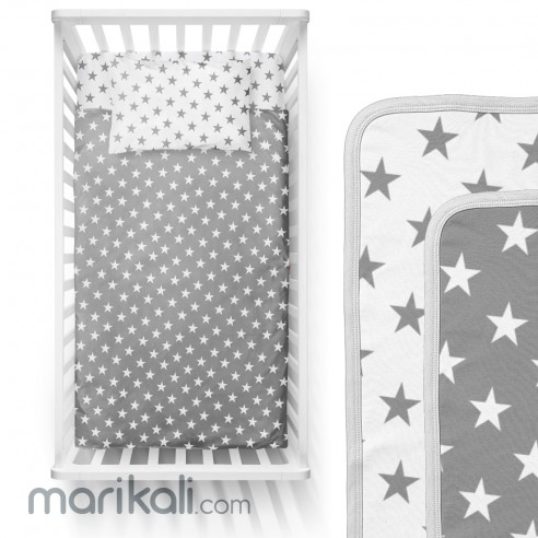 mk Collection Summer Bed Sheet 3pc...