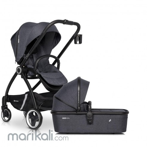 EuroCart Crox 2in1 Stroller & Carrycot
