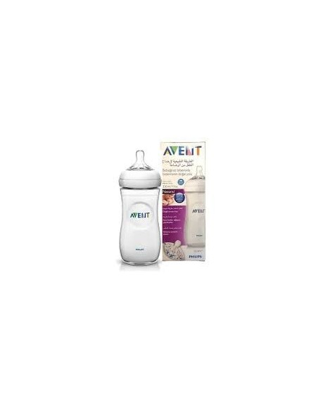 AVENT Natural 11oz Feeding Bottle Medium Teat