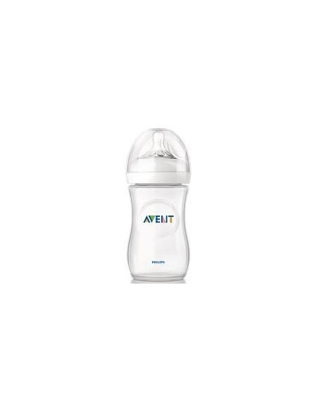 Avent 260ml Natural Feeding Bottle  with Slow Flow Teat