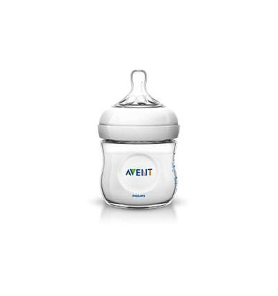 Avent Natural Feeding Bottle 125ml
