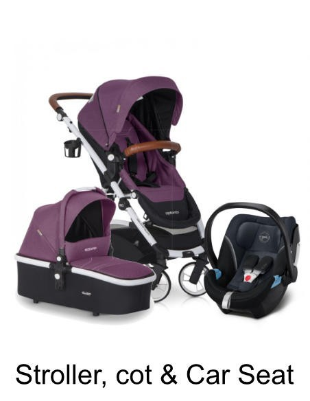 3in1 Systems - Stroller, Carrycot, Car Seat